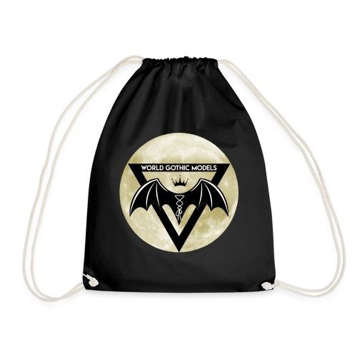 Single WGM Logo Moon Design - Drawstring Bag