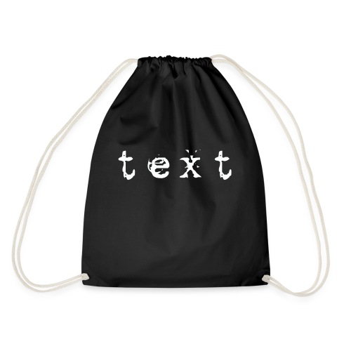 text - Turnbeutel