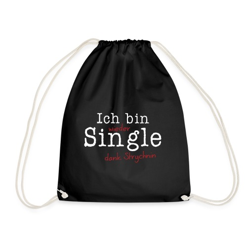 Ich bin Single - Turnbeutel