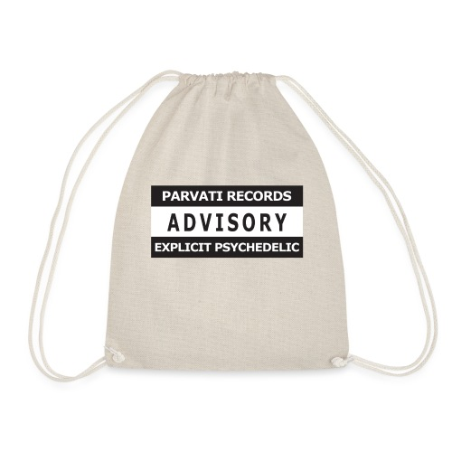 Advisory - Explicit Psychedelic - Drawstring Bag