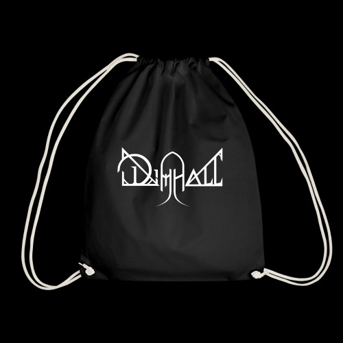 Dimhall White - Drawstring Bag