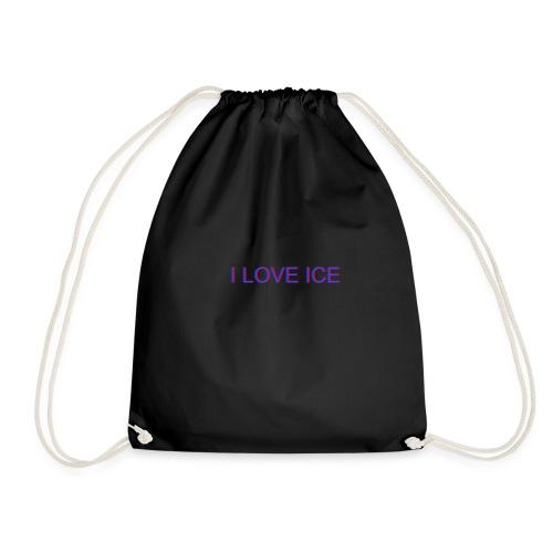 i love ice3d - Turnbeutel