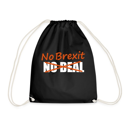 No Brexit - Drawstring Bag