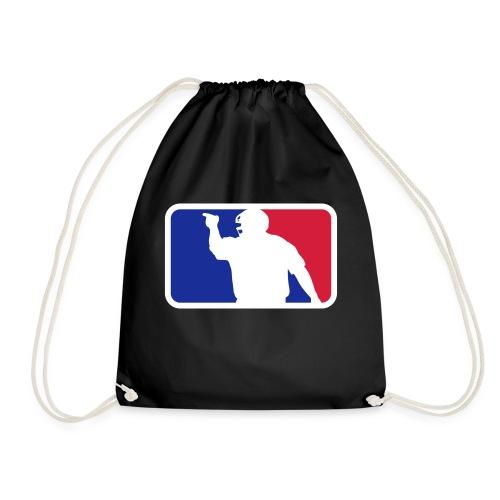 Baseball Umpire Logo - Drawstring Bag