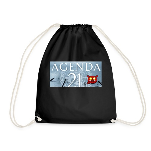 Agenda 21.bad - Drawstring Bag