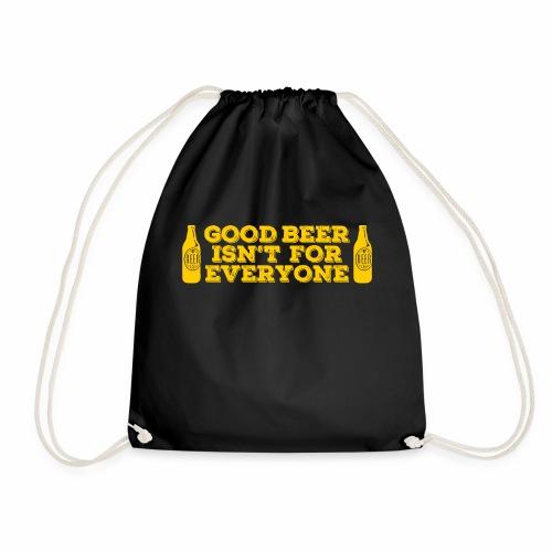 Good Beer - Drawstring Bag