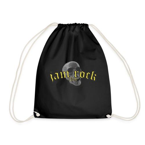 JAM the ROCK Logo skul gold - Turnbeutel