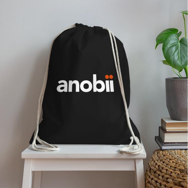 Anobii logo (white)