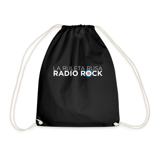 La Ruleta Rusa Radio Rock, Landscape White - Mochila saco
