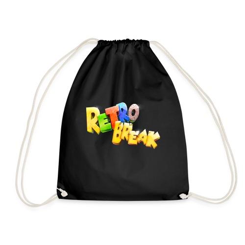 RetroBreak Logo - Drawstring Bag