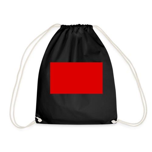 2000px Red flag svg png - Drawstring Bag