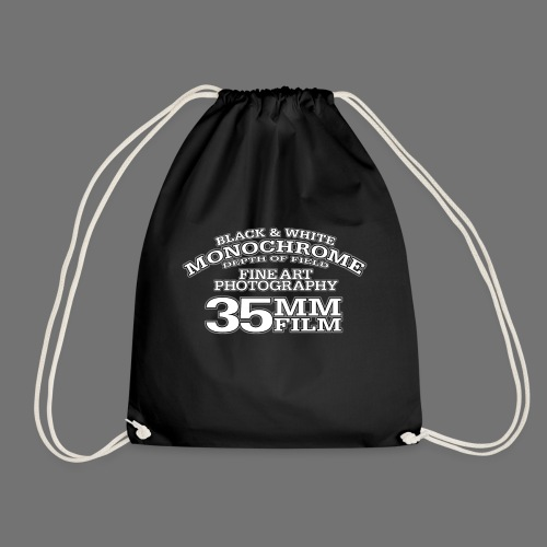 35mm white Photography - Drawstring Bag