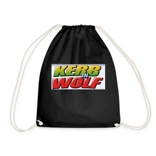 Logo Kerb in Wolf 3 - Turnbeutel