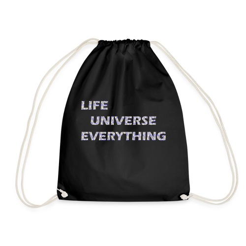 LIFE = 42 - Drawstring Bag