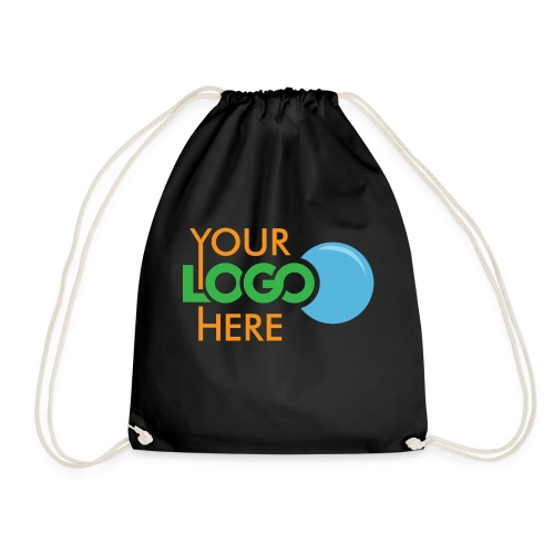 Your Logo Here - Drawstring Bag