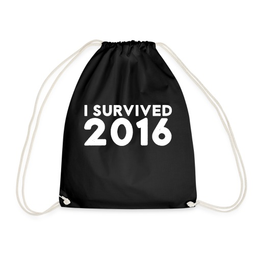 I SURVIVED 2016 - Drawstring Bag