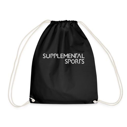 Supplemental Sports logo design. - Drawstring Bag