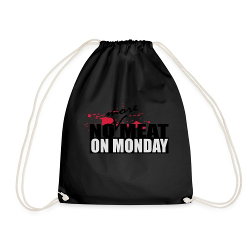 nomeat6 - Drawstring Bag