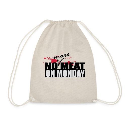 nomeat6 - Drawstring Bag