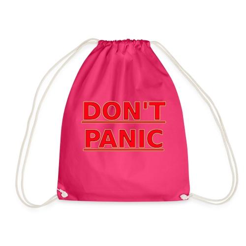 DON T PANIC - Drawstring Bag