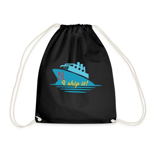Welcome aboard the BL Ship! - Drawstring Bag