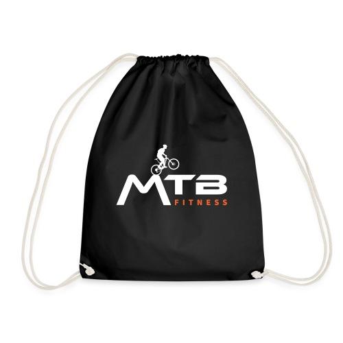 Subtle MTB Fitness - White Logo - Drawstring Bag