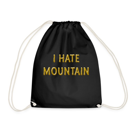 hate mountain - Turnbeutel