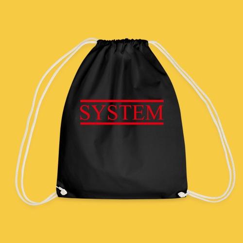 SYSTEM Balken rot - Turnbeutel