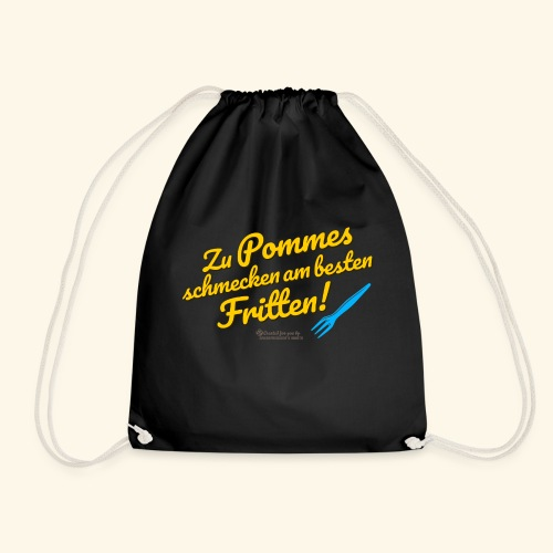 Pommes & Fritten   Geek T-Shirts - Turnbeutel