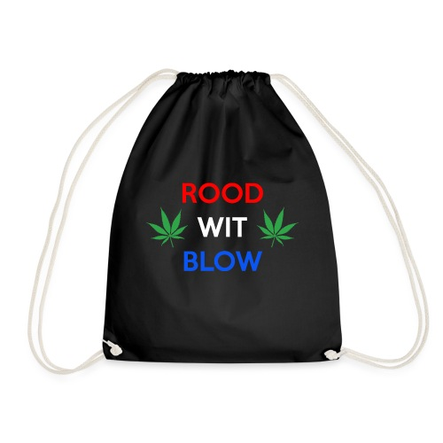Rood Wit Blow - Gymtas