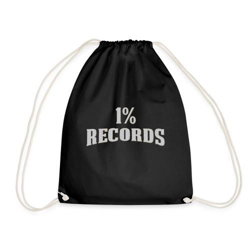 1 Prozent Records Logo - Turnbeutel