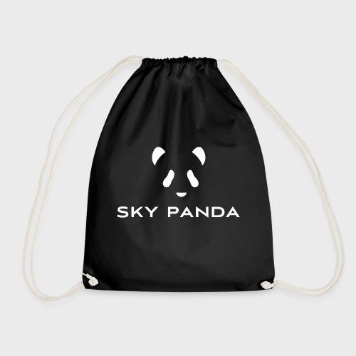Sky Panda White - Turnbeutel