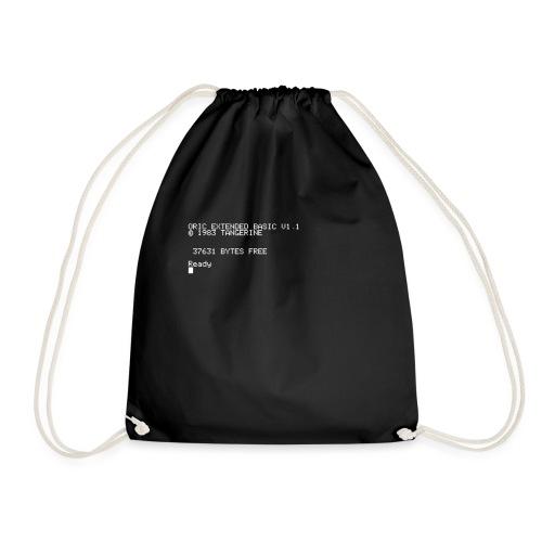 Oric atmos boot screen print - Drawstring Bag