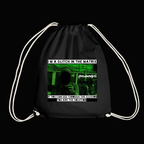 Glitch In The Matrix!!! Truth T-Shirts!!! #Matrix - Drawstring Bag