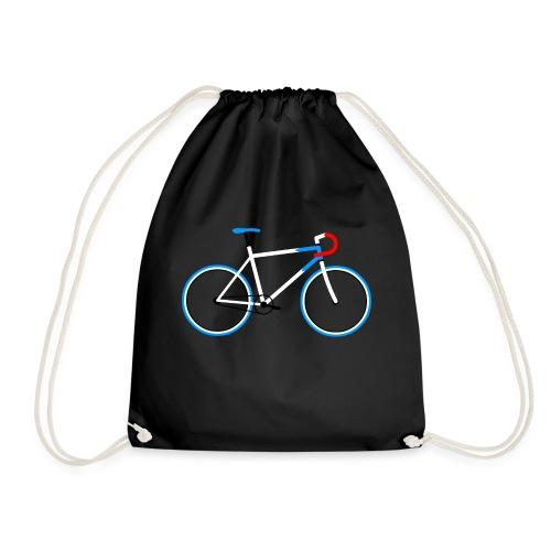 08-30 Fahrrad Fixie - Turnbeutel