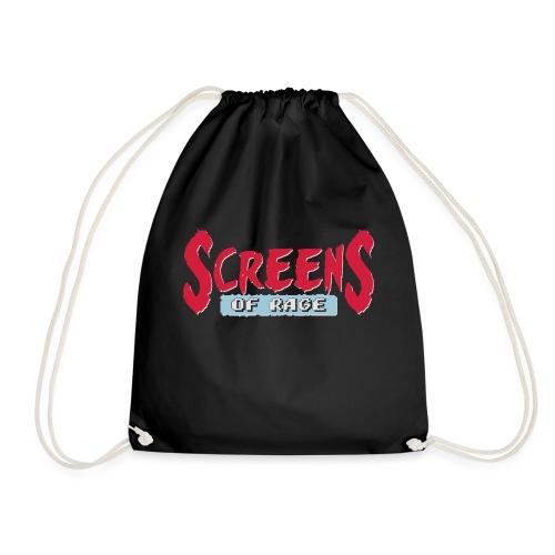 screens of rage - Drawstring Bag