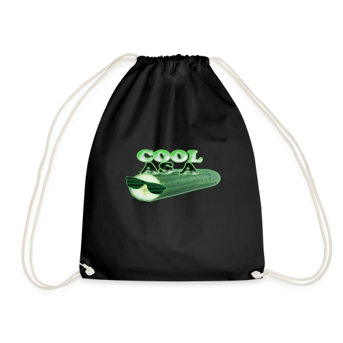 Cool as a Cucumber - Drawstring Bag