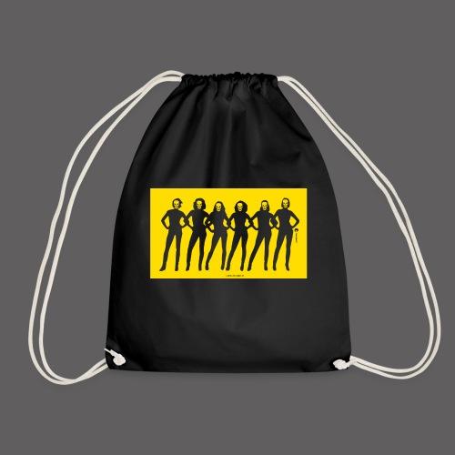 Dark Dolls Yellow - Drawstring Bag