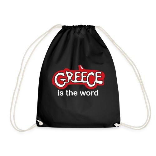 Greece Holiday T shirt - Drawstring Bag