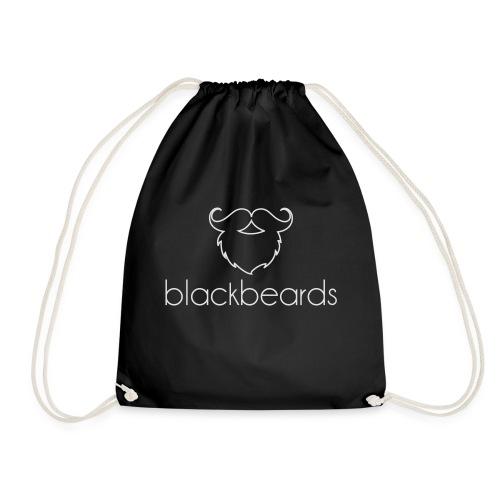 Blackbeards Logo_weiß - Turnbeutel