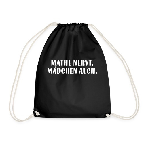 Mathe_Vektor - Turnbeutel
