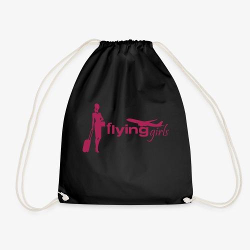 flying girls stewardess - Turnbeutel