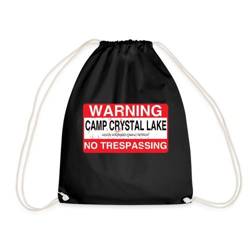 Camp Crystal Lake No Trespassing - Sac de sport léger