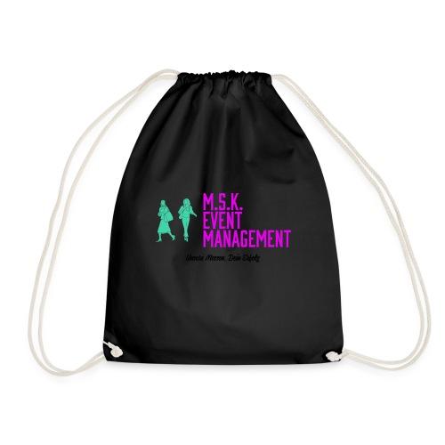 M.S.K. Event Management transparent - Turnbeutel