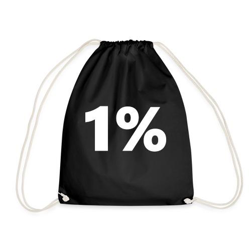 1 % wiess - Turnbeutel