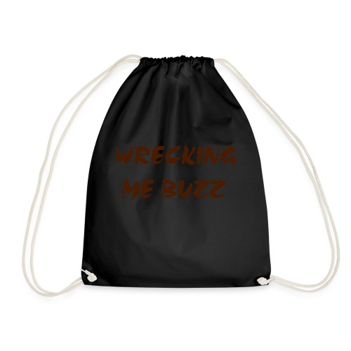 wreckingmebuzz - Drawstring Bag
