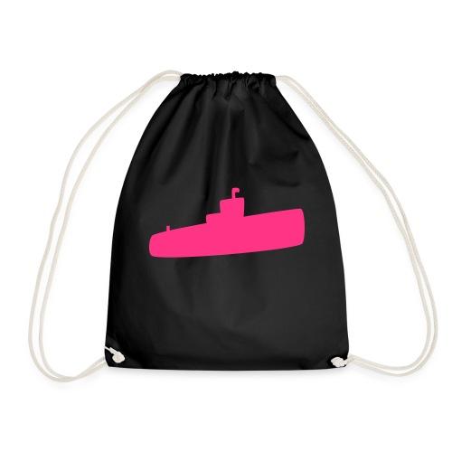 Rosa U-Boot - Turnbeutel