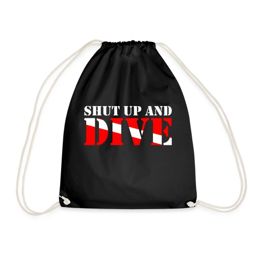 SCUBA SHUT UP AND DIVE - Turnbeutel