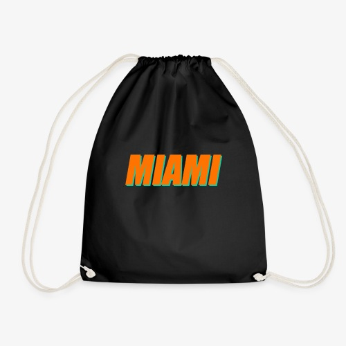 Miami Dolphins Football - Drawstring Bag