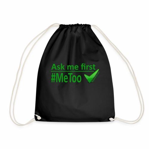 askmefirst logo - Drawstring Bag